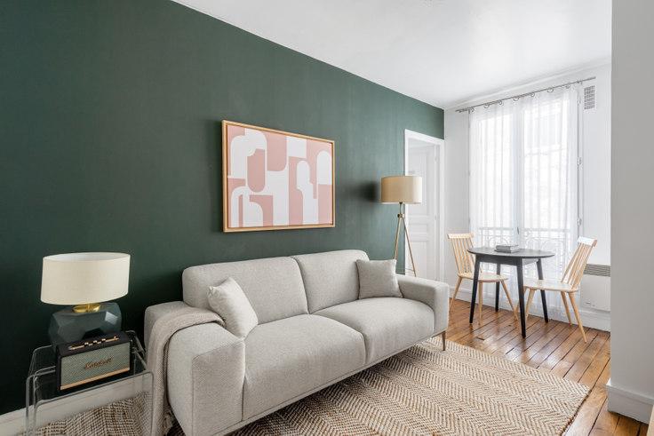 1 bedroom furnished apartment in Rue Jean-Pierre Timbaud 43, Le Marais - République, Paris, photo 1