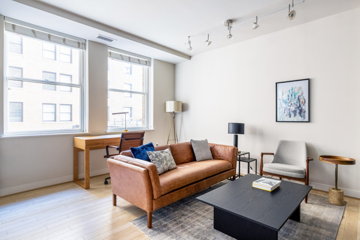1 bedroom furnished apartment in The Woodward, 733 15th St NW 231, Downtown, Washington D.C., photo 1