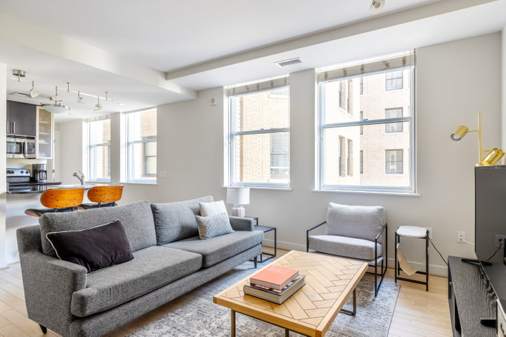 1 bedroom furnished apartment in The Woodward, 733 15th St NW 232, Downtown, Washington D.C., photo 1