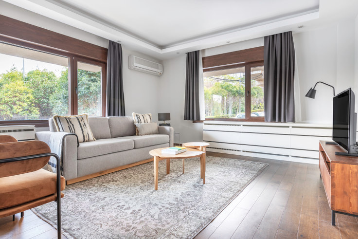 4 bedroom furnished apartment in Aktek Sitesi - 571 571, Levazım, Istanbul, photo 1