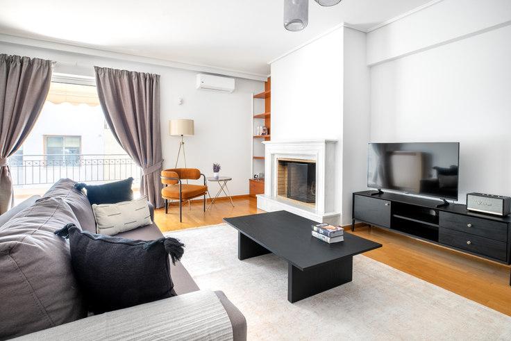 3 bedroom furnished apartment in Str. Ioannou 936, Mets - Kallimarmaro, Athens, photo 1
