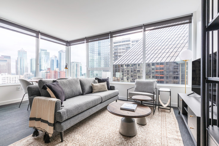 2 bedroom furnished apartment in Arrive, 2116 4th Ave 57, Belltown, Seattle, photo 1