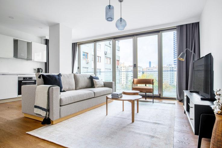 1 bedroom furnished apartment in Gayrettepe53 - 577 577, Gayrettepe, Istanbul, photo 1