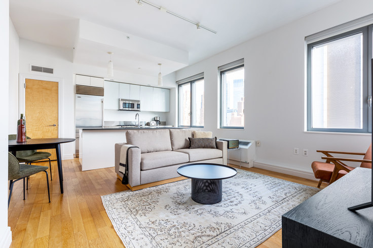2 bedroom furnished apartment in Instrata Mercedes House, 550 W 54th St 522, Midtown West, New York, photo 1