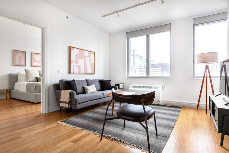 2 bedroom furnished apartment in Instrata Mercedes House, 550 W 54th St 523, Midtown West, New York, photo 1