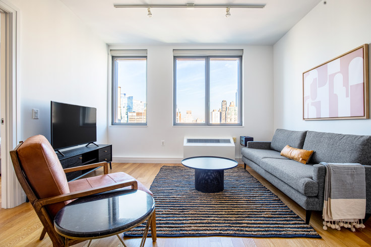1 bedroom furnished apartment in Instrata Mercedes House, 550 W 54th St 525, Midtown West, New York, photo 1
