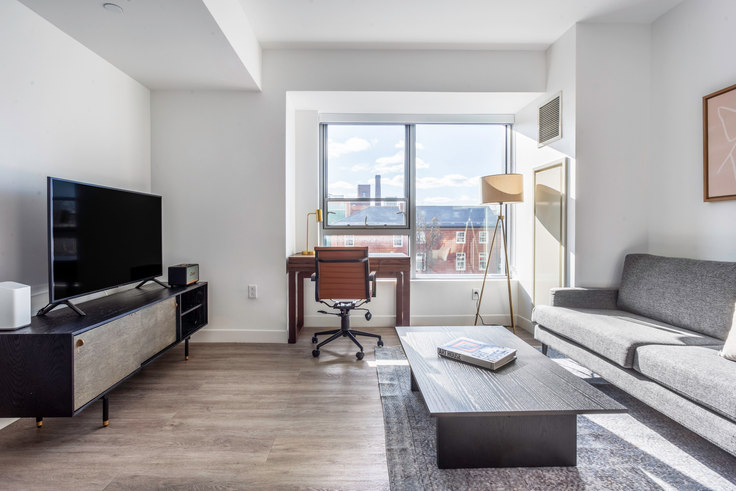 Studio furnished apartment in Watermark Central, 425 Massachusetts Ave 313, Central Square, Boston, photo 1