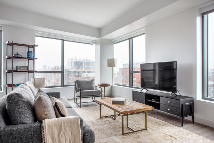2 bedroom furnished apartment in Watermark Central, 425 Massachusetts Ave 316, Central Square, Boston, photo 1