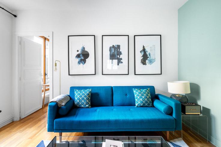 1 bedroom furnished apartment in Quai de Valmy 46, Canal Saint-Martin, Paris, photo 1