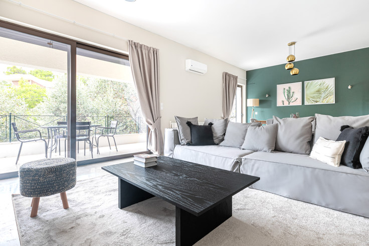 3 bedroom furnished apartment in Panagias Eleftherotrias III 940, Kifisia, Athens, photo 1