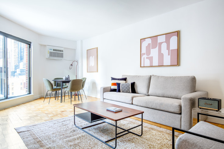 2 bedroom furnished apartment in 300 E 51st St 533, Midtown East, New York, photo 1