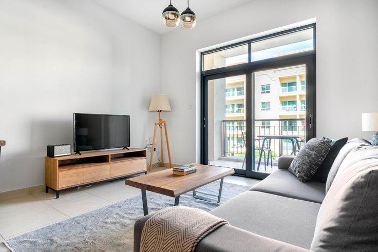 1 bedroom furnished apartment in Travo Apartment 672, Travo Tower, Dubai, photo 1