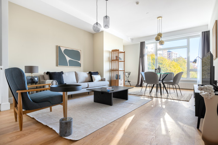 1 bedroom furnished apartment in Selenium Twins - 579 579, Beşiktaş, Istanbul, photo 1
