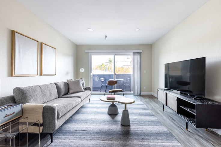 2 bedroom furnished apartment in Terrace at the Grove, 110 S. Sweetzer Ave 359, Beverly Grove, Los Angeles, photo 1