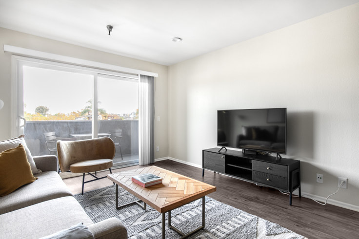 2 bedroom furnished apartment in Terrace at the Grove, 110 S. Sweetzer Ave 360, Beverly Grove, Los Angeles, photo 1
