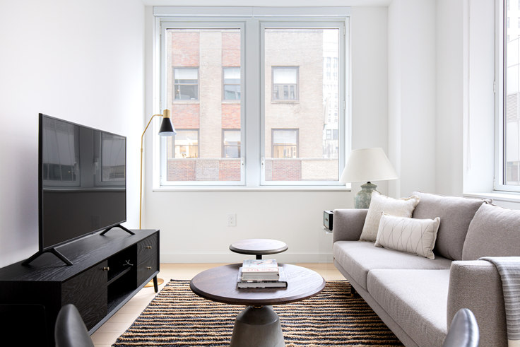 1 bedroom furnished apartment in 20 Broad St 540, Financial District, New York, photo 1