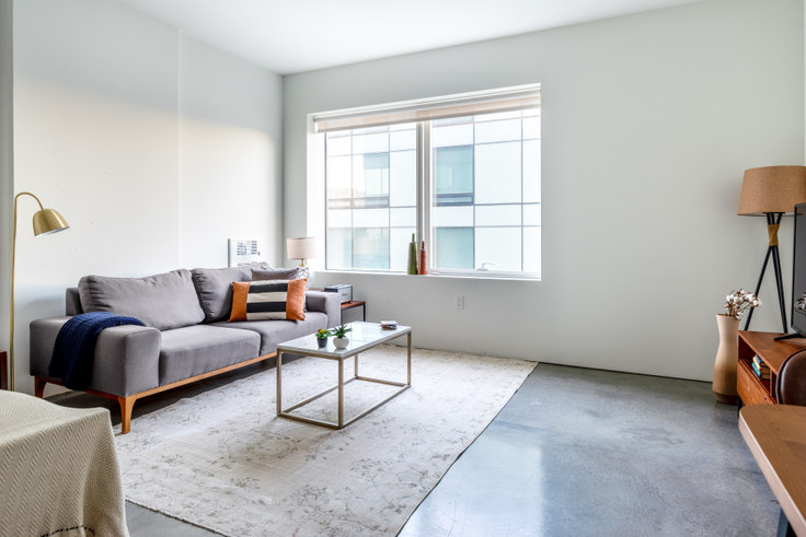 Studio furnished apartment in NEMA SF South Tower, 18 10th St 397, SoMa, San Francisco Bay Area, photo 1