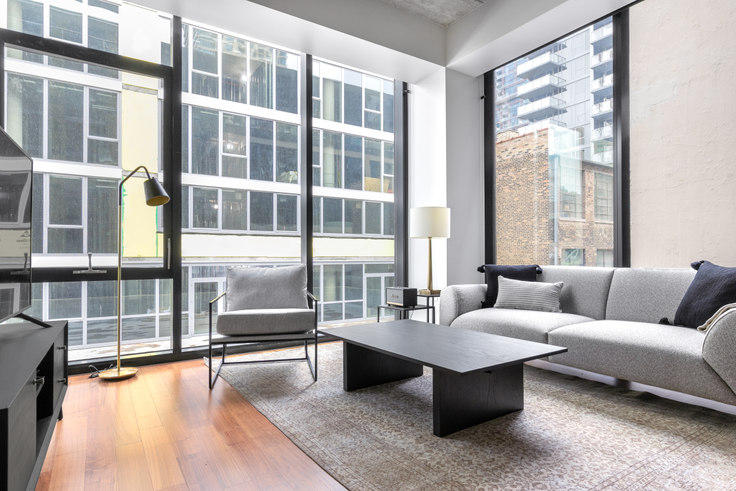 1 bedroom furnished apartment in Ardus, 676 N LaSalle Dr 338, River North, Chicago, photo 1