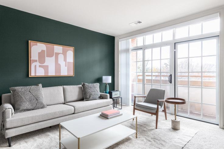 2 bedroom furnished apartment in Garfield Park, 925 N Garfield St 234, Clarendon, Washington D.C., photo 1
