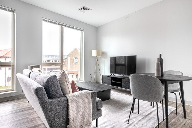Studio furnished apartment in The Overlook at St. Gabriel's, 175 Washington St 321, Brighton, Boston, photo 1