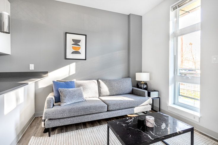 1 bedroom furnished apartment in The Overlook at St. Gabriel's, 175 Washington St 322, Brighton, Boston, photo 1