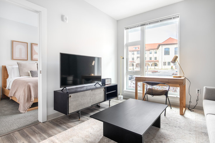 1 bedroom furnished apartment in The Overlook at St. Gabriel's, 175 Washington St 324, Brighton, Boston, photo 1