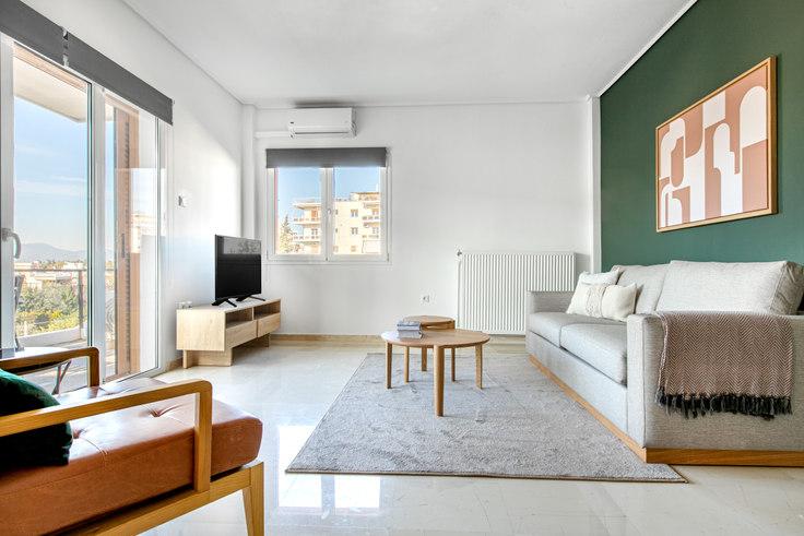 2 bedroom furnished apartment in Dareiotou 948, Kifisia, Athens, photo 1