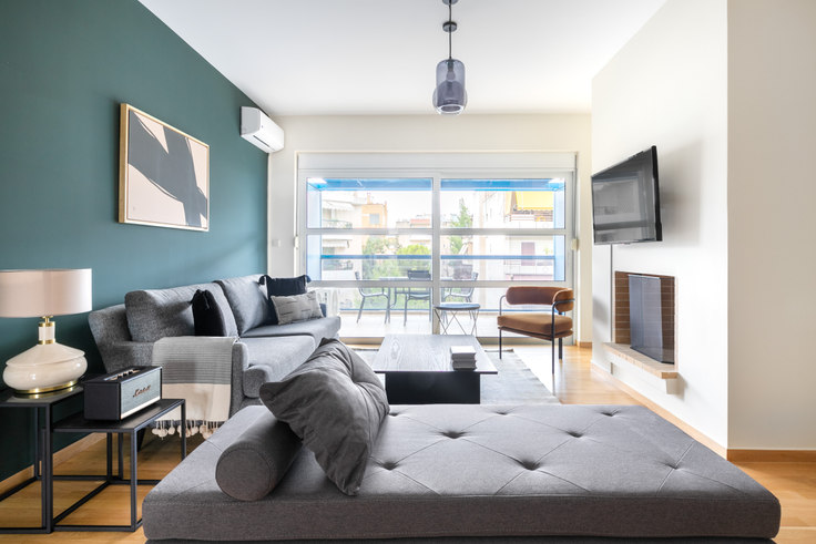 2 bedroom furnished apartment in Gazias 949, Chalandri, Athens, photo 1