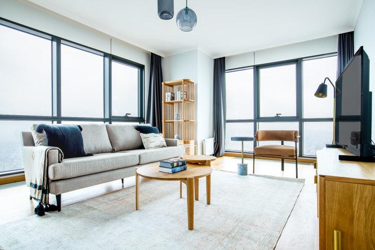 2 bedroom furnished apartment in Varyap Meridian - 583 583, Batı Ataşehir, Istanbul, photo 1