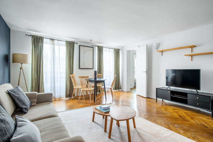 2 bedroom furnished apartment in Boulevard Saint-Germain 49, Quartier Latin, Paris, photo 1