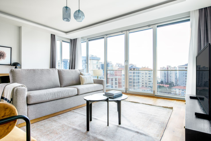 3 bedroom furnished apartment in Yelkovan - 588 588, Suadiye, Istanbul, photo 1