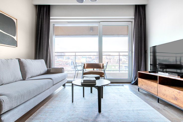 2 bedroom furnished apartment in Nidapark Küçükyalı - 591 591, Kadikoy, Istanbul, photo 1