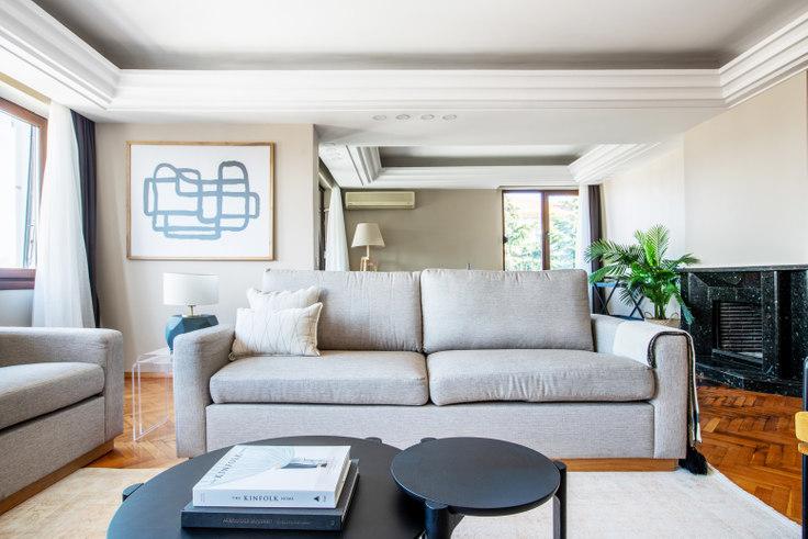 3 bedroom furnished apartment in Alkent - 593 593, Etiler, Istanbul, photo 1