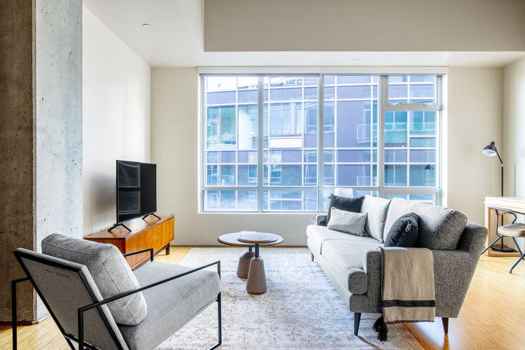 1 bedroom furnished apartment in Rollin Street Flats, 120 Westlake Ave N 68, South Lake Union, Seattle, photo 1