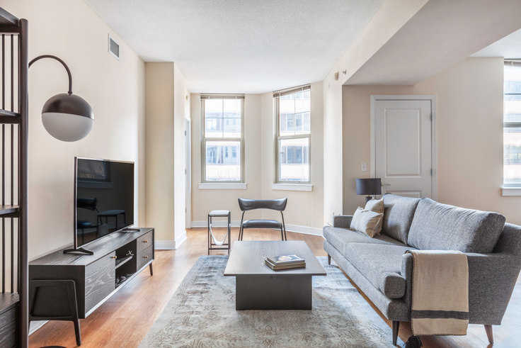 2 bedroom furnished apartment in 1210 Mass, 1210 Massachusetts Ave NW 238, Downtown, Washington D.C., photo 1