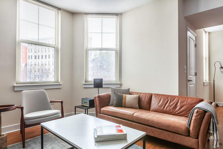 2 bedroom furnished apartment in 1210 Mass, 1210 Massachusetts Ave NW 239, Downtown, Washington D.C., photo 1