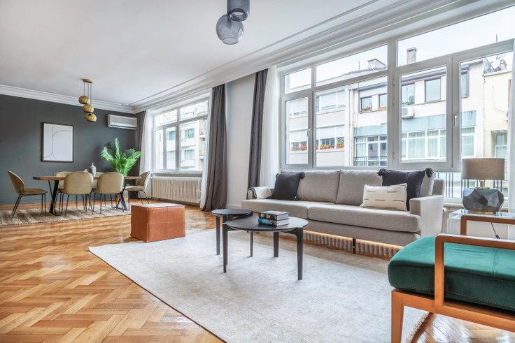 4 bedroom furnished apartment in Yonca - 594 594, Nişantaşı, Istanbul, photo 1