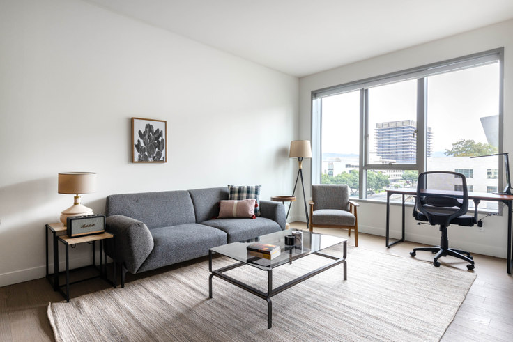 1 bedroom furnished apartment in The Emerson, 225 S Grand Ave 373, Downtown, Los Angeles, photo 1