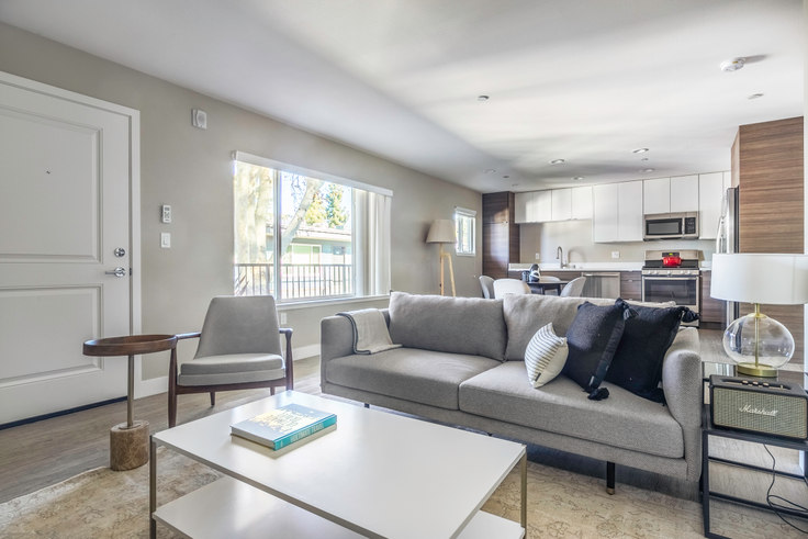 2 bedroom furnished apartment in Parc at Pruneyard, 225 Union Ave 410, Campbell, San Francisco Bay Area, photo 1