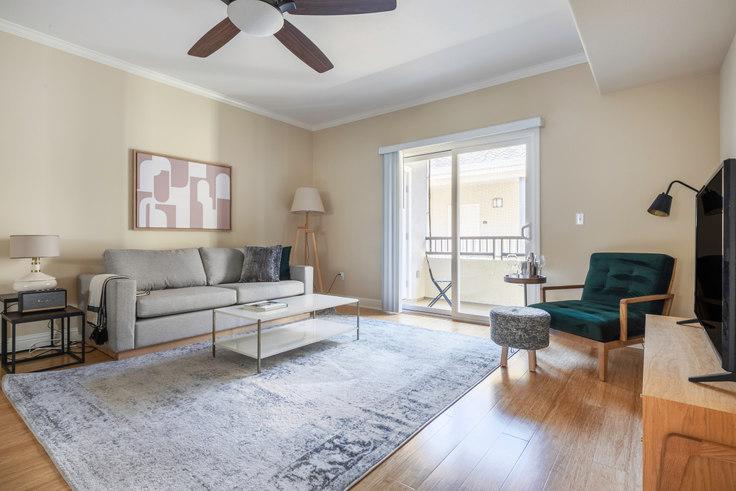 2 bedroom furnished apartment in Balmoral Apartments, 3585 Agate Dr 414, Santa Clara, San Francisco Bay Area, photo 1