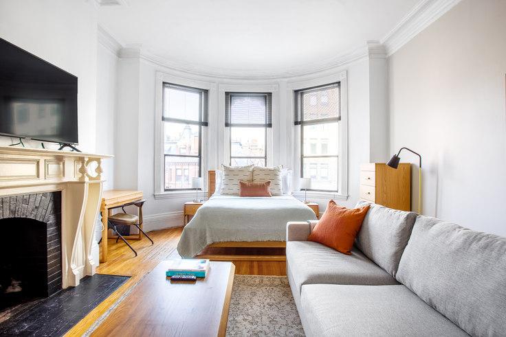 Studio furnished apartment in The Dartmouth Condominiums, 271 Dartmouth St 331, Back Bay, Boston, photo 1