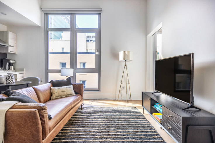 1 bedroom furnished apartment in Stage 1075, 1075 Market St 415, SoMa, San Francisco Bay Area, photo 1