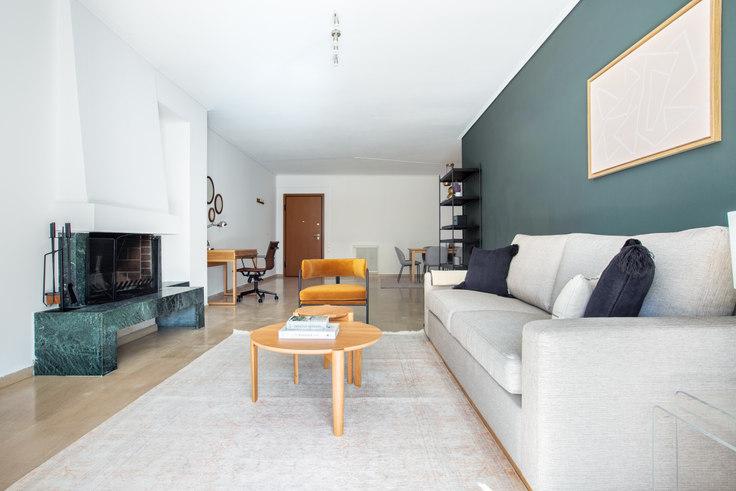 2 bedroom furnished apartment in Alkionis 956, Palaio Faliro, Athens, photo 1