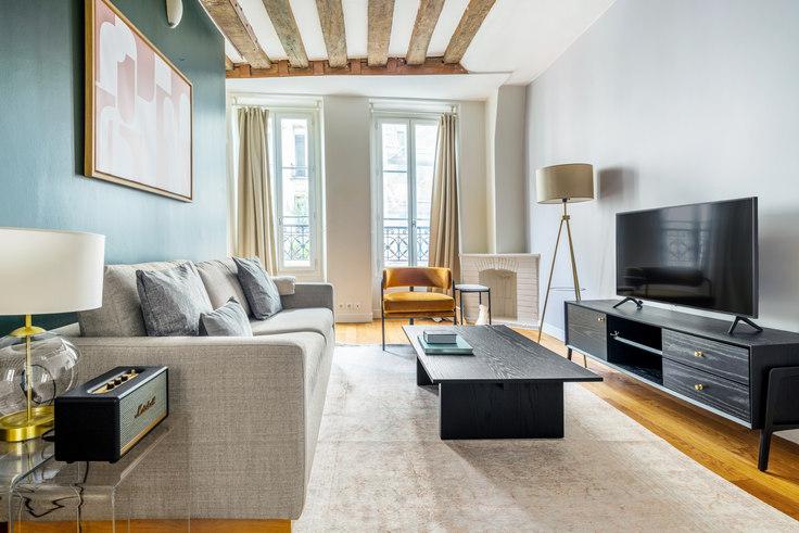 1 bedroom furnished apartment in Rue des Petits Carreaux 54, Sentier - Montorgueil, Paris, photo 1
