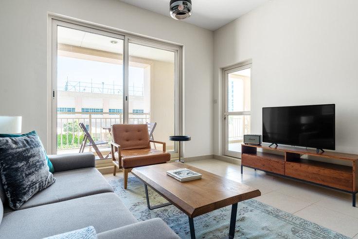 1 bedroom furnished apartment in Mosela Apartment II 689, Mosela Tower, Dubai, photo 1