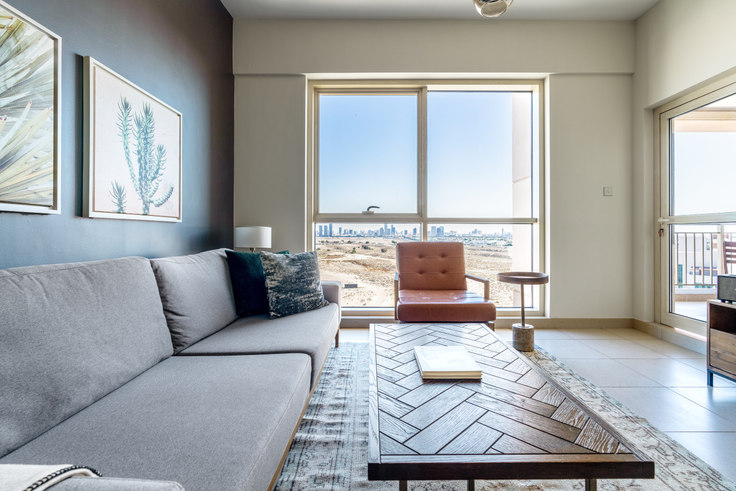 1 bedroom furnished apartment in Mosela Apartment I 690, Mosela Tower, Dubai, photo 1