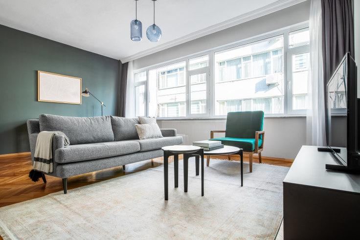 2 bedroom furnished apartment in Ulu Yol - 597 597, Sisli, Istanbul, photo 1