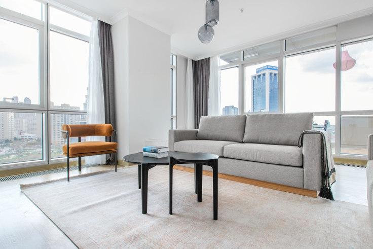 3 bedroom furnished apartment in Varyap Meridian - 598 598, Batı Ataşehir, Istanbul, photo 1
