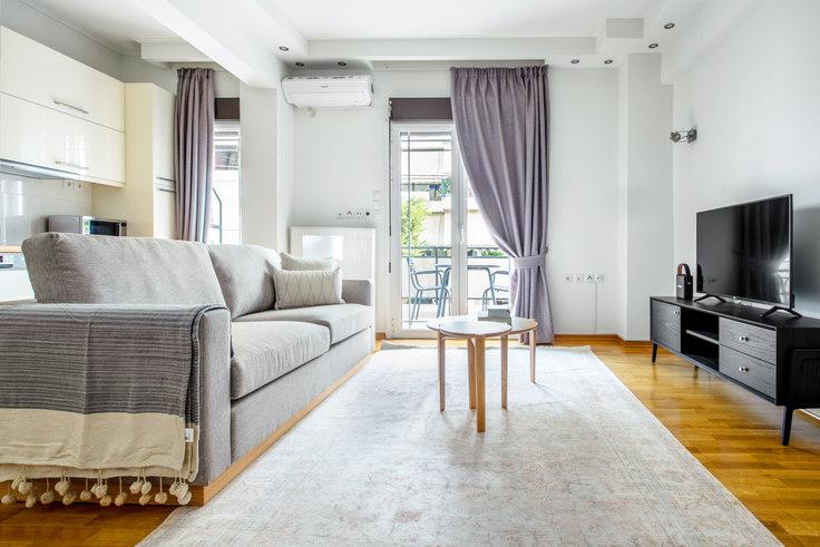 1 bedroom furnished apartment in Paleon Patron Germanou 961, Chalandri, Athens, photo 1