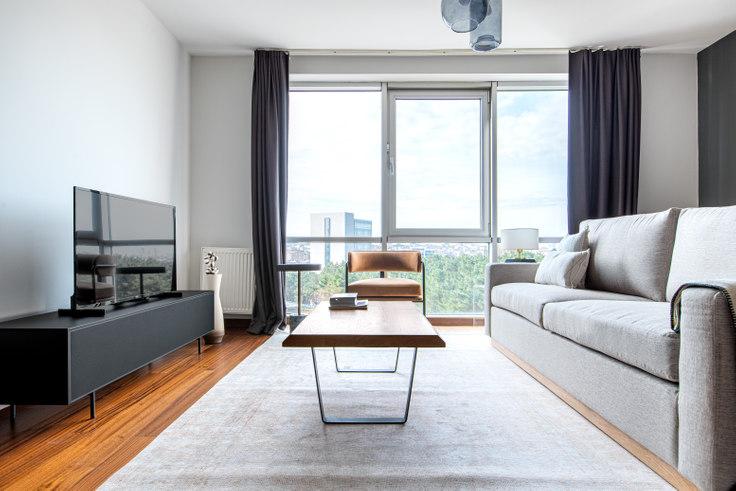 2 bedroom furnished apartment in Dorapark - 602 602, Ümraniye, Istanbul, photo 1